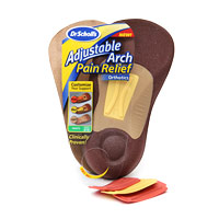 ADJUSTABLE ARCH PAIN RELIEF